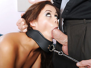 Young sexy girlfriend Blair Summers receives a real punishment