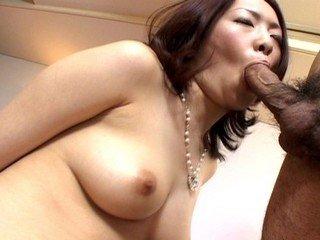 Horny hairy pussy Japanese fucked hard!